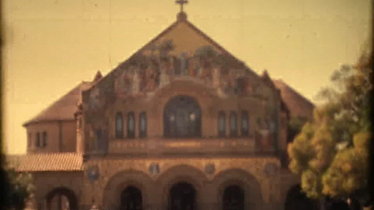 The Stanford Memorial Church appears in this undated image.