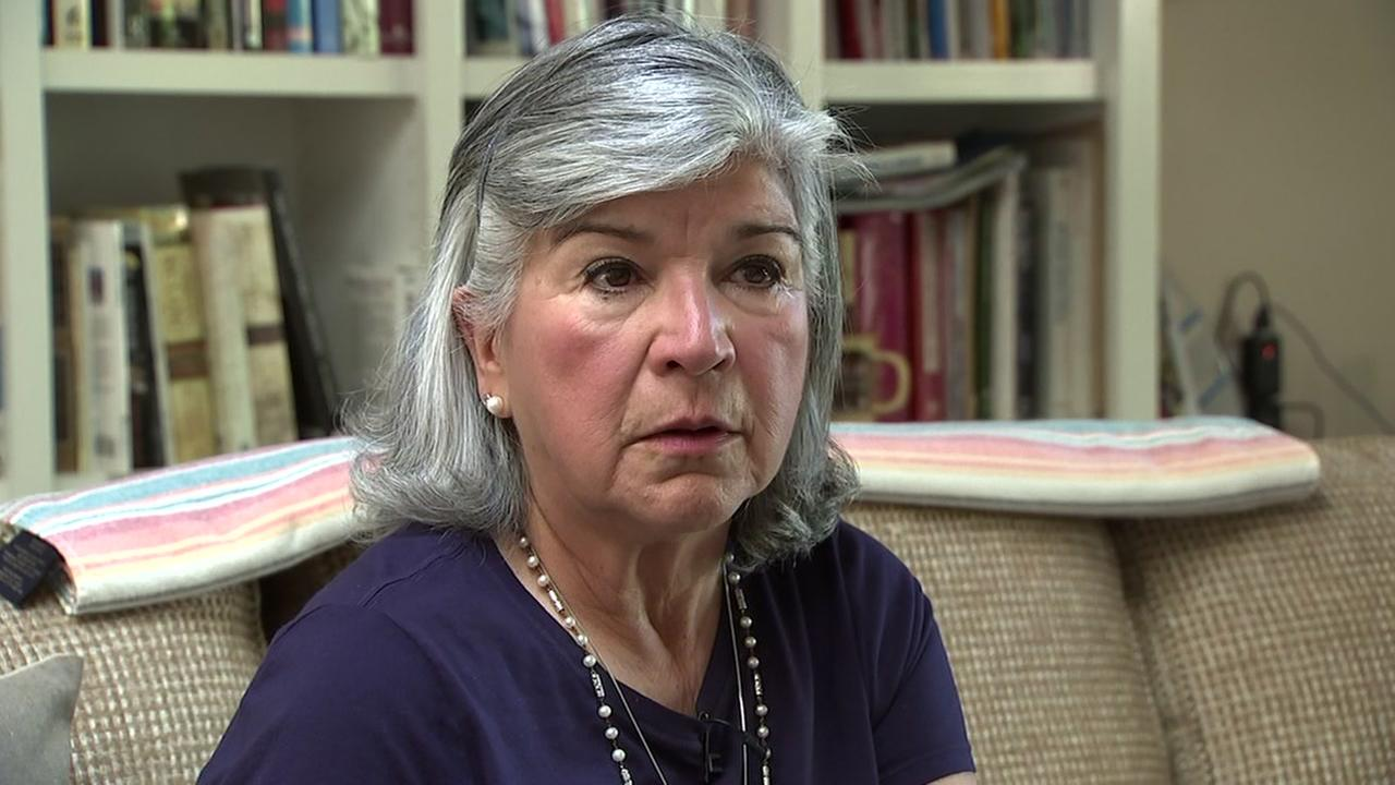 Sylvia Avalos Baldwin, a Stanford alumnus from 1974, speaks to ABC7 News on Thursday, June 28, 2018.