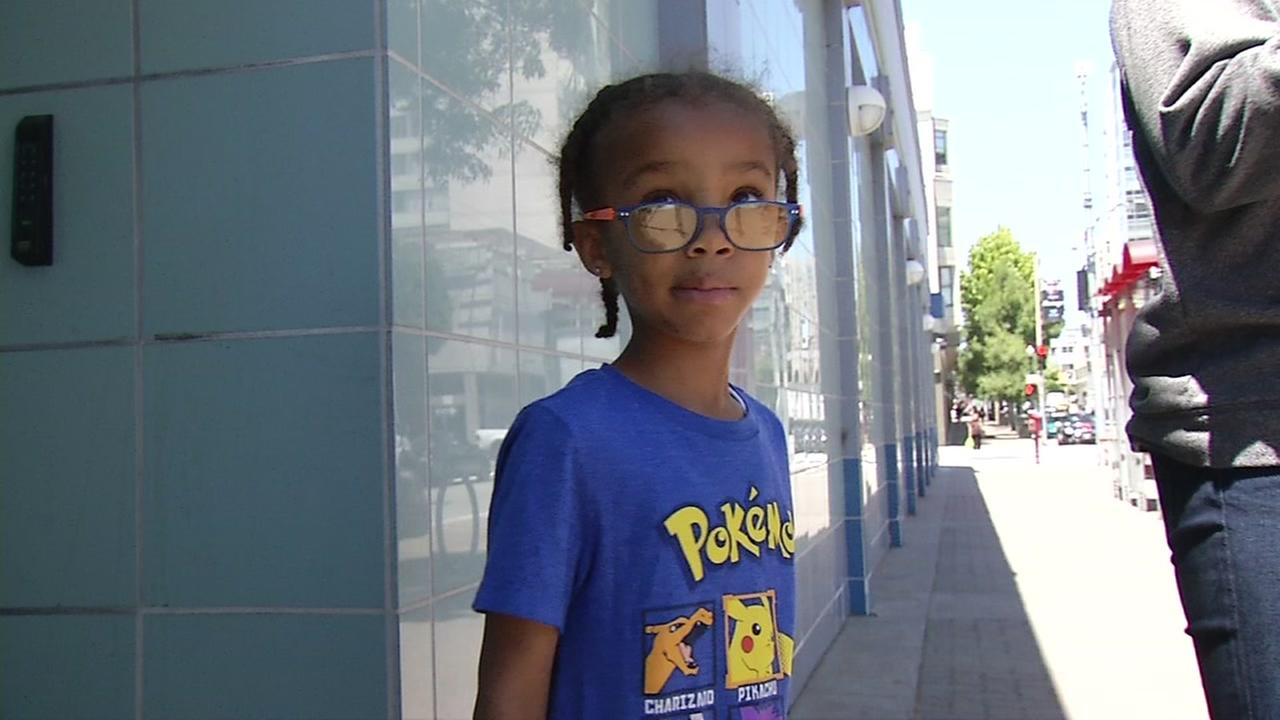 Five-year-old Jairus Moreland was left on a Muni bus after a day trip in San Francisco.