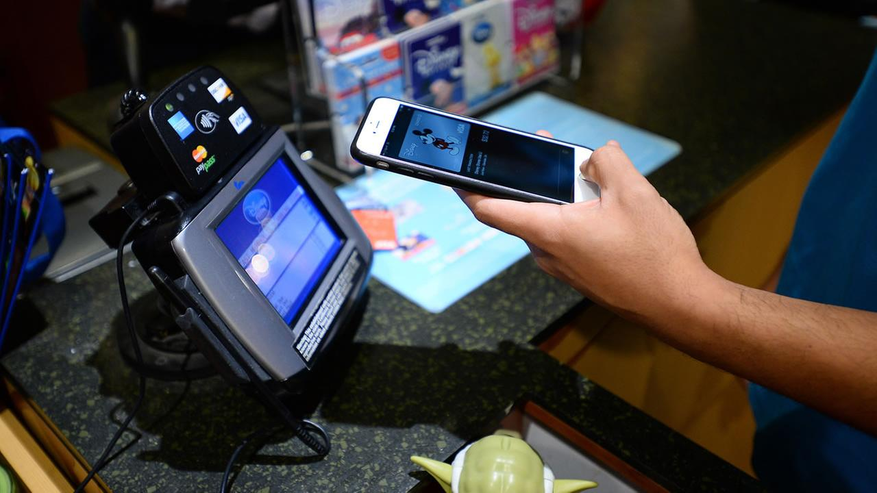 New Apple Pay technology rolled out to Disney Store locations nationwide on Monday, October 20, 2014 2014 (Photo by Jordan Strauss/Invision for Disney Store/AP Images)