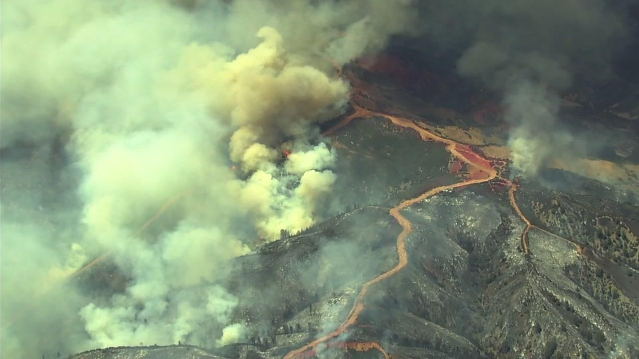The Pawnee Fire in Lake County, Calif., has burned more than 13,000 acres so ar.