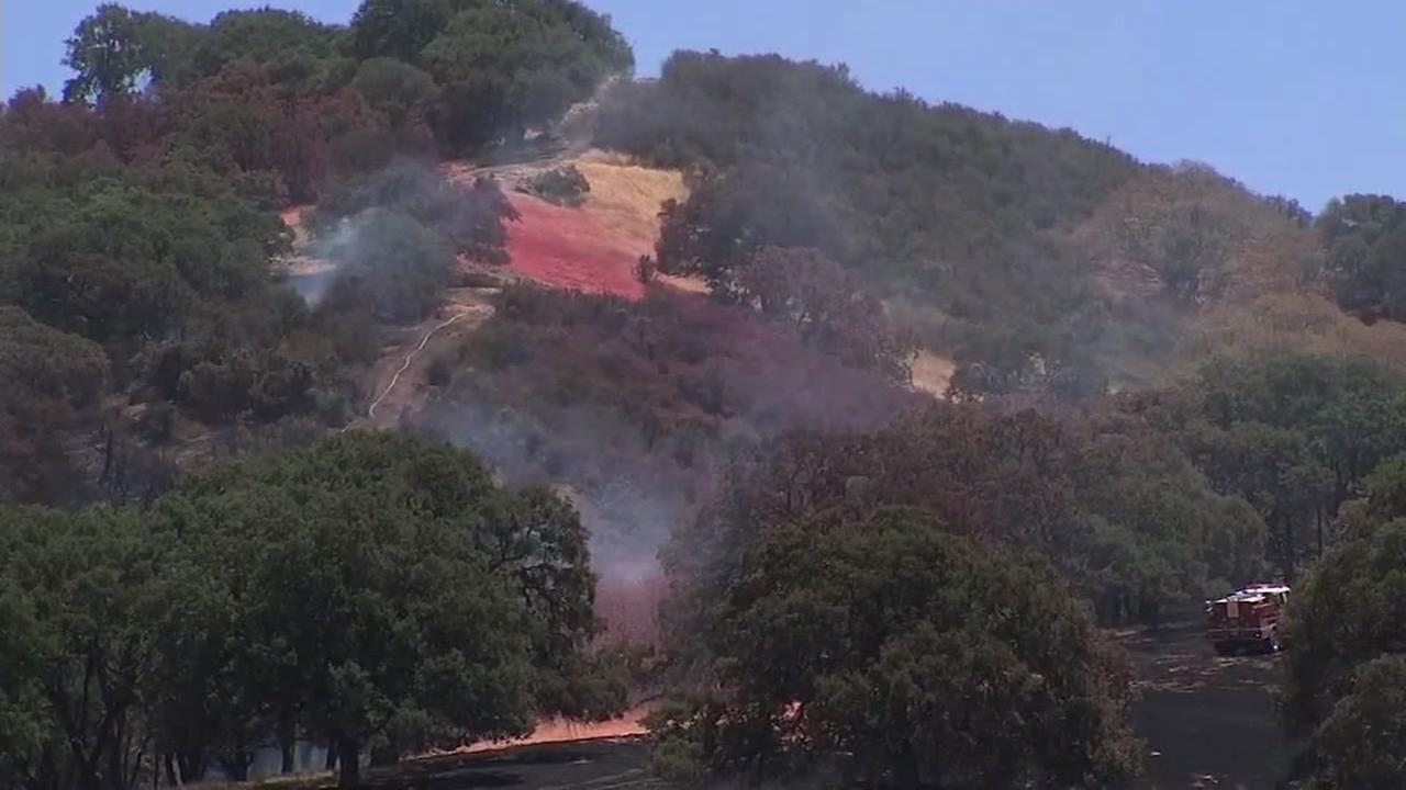 A fire in Concord, Calif., began on Jun 29, 2018.