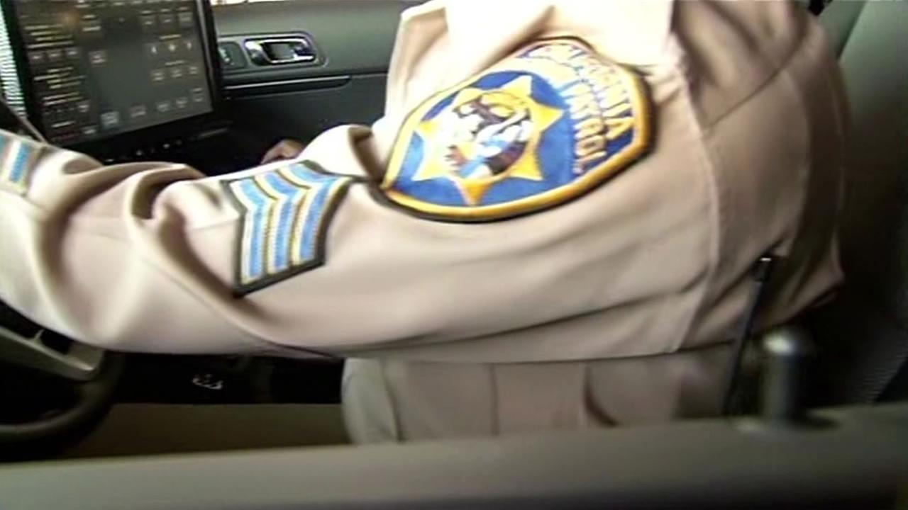 CHP officers arm