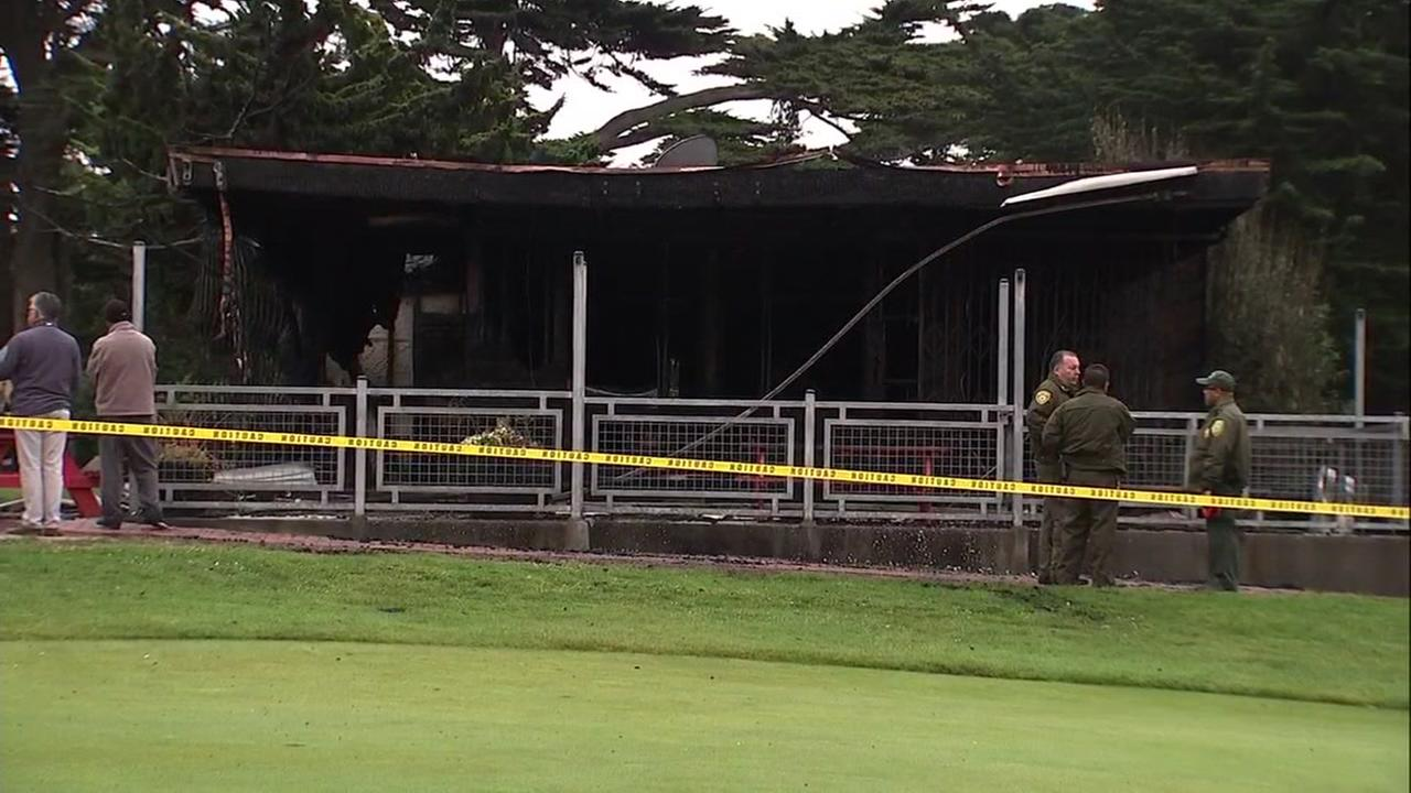A 2-alarm fire did significant damage to the clubhouse at the Golden Gate Park Golf Course in San Francisco on Monday, July 2, 2018.