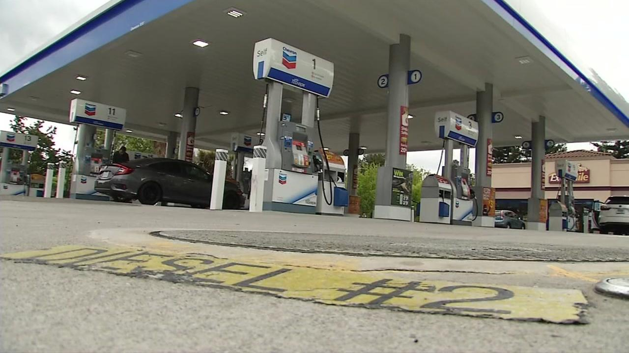 A Chevron station appears in San Ramon, Calif. in this undated image.