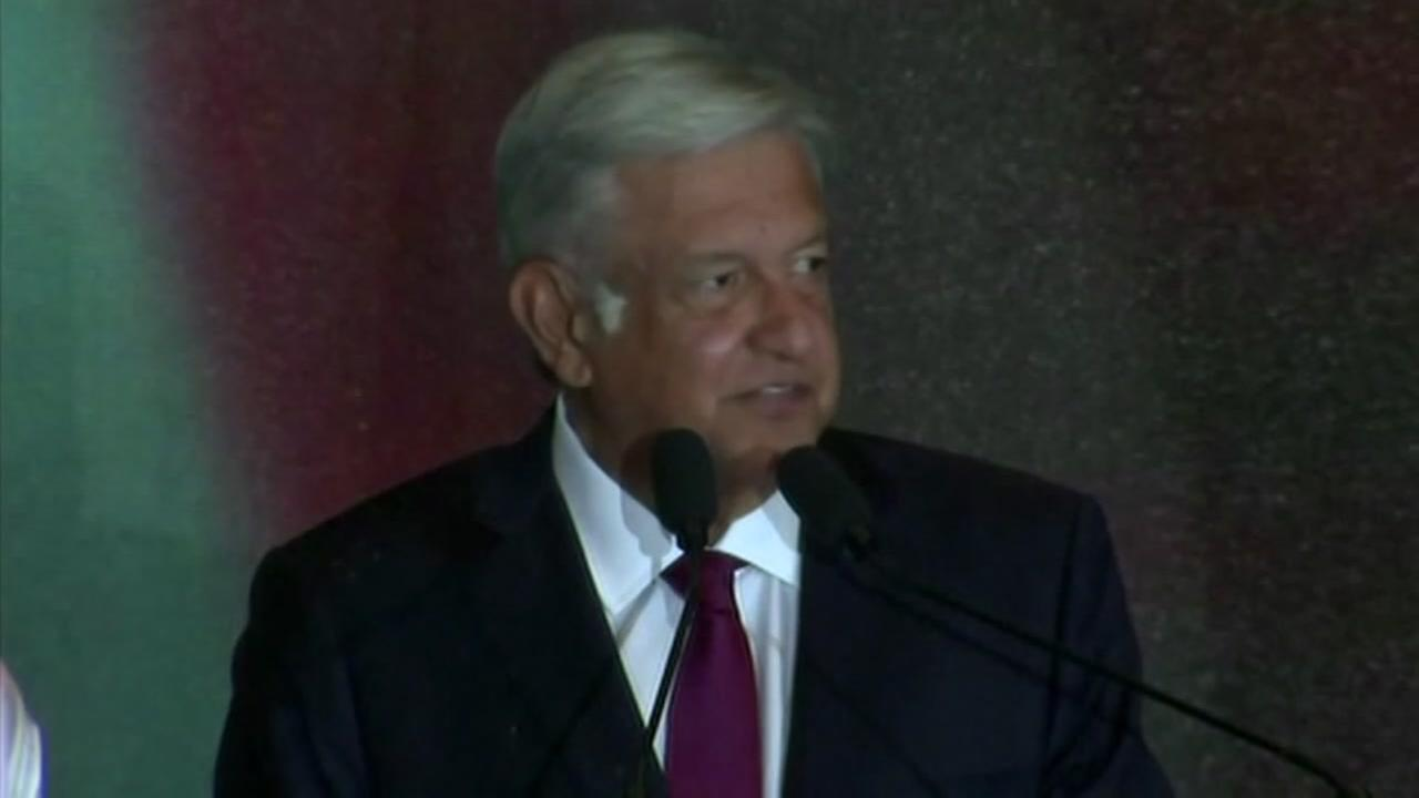 Andres Manuel Lopez Obrador, Mexicos new president, appears in this undated image.