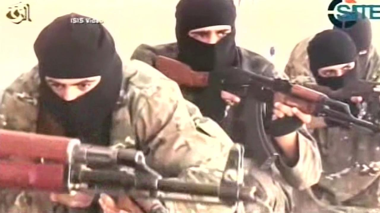 ISIS soldiers.