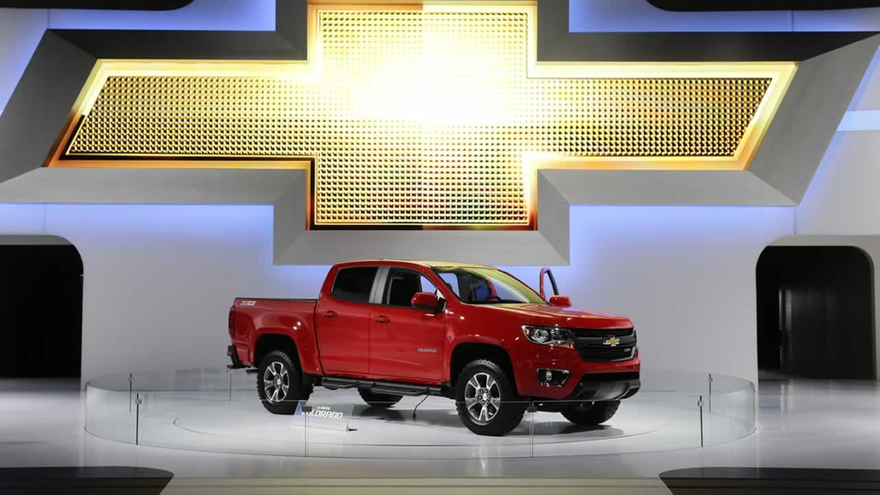 The new 2015 Chevrolet Colorado pickup truck