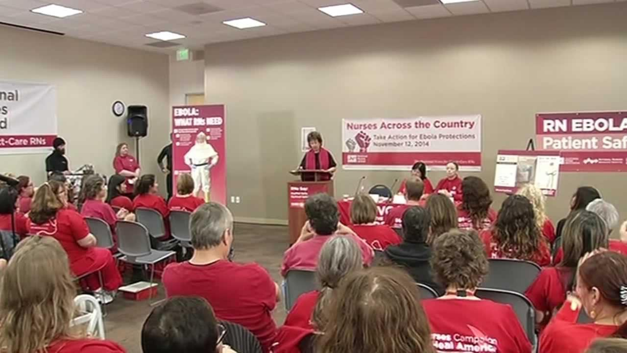 Local nurses want hospitals to do more when it comes to protecting healthcare workers from the deadly Ebola virus.