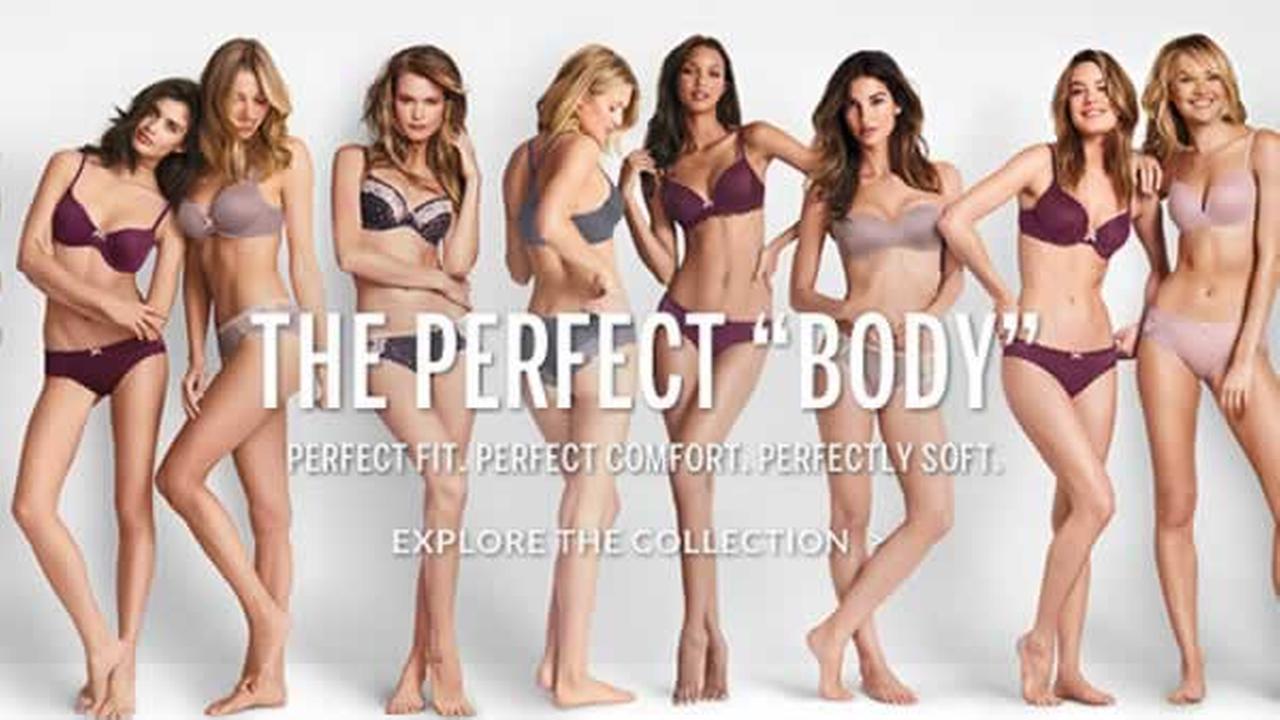 Victorias Secret advertisement