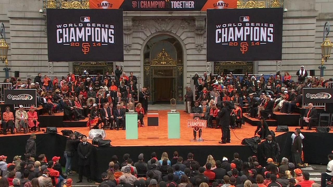 2014 San Francisco Giants Victory Parade highlights