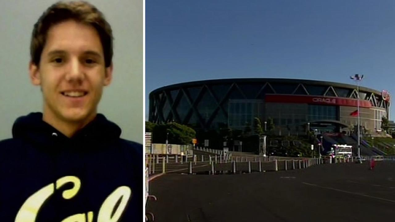 UC Berkeley student Zachary Bradley, 20, died after taking a fall during a concert at Oracle Arena.