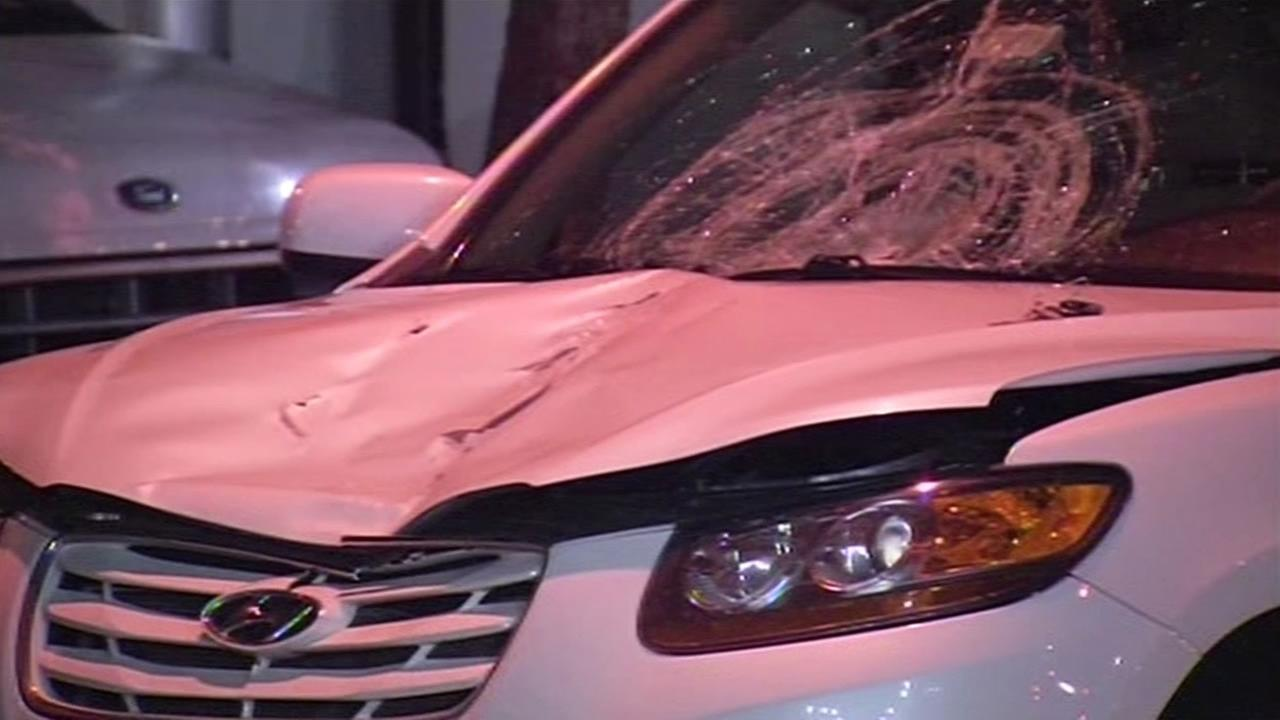 Vehicle involved in fatal hit-and-run collision in San Francisco.