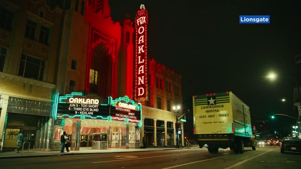The Fox Theater in Oakland, Calif. appears in the film Blindspotting.