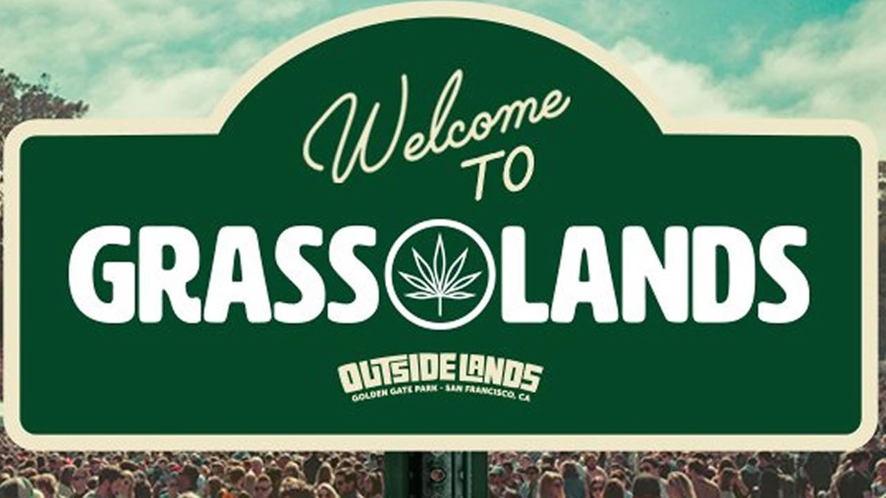 Outside Lands Festival tweeted this photo promoting its new area called Grass Lands on Tuesday, July 24, 2018.