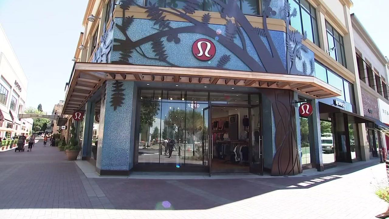 A Lululemon store is pictured in Walnut Creek, Calif. on Tuesday, July 24, 2018.