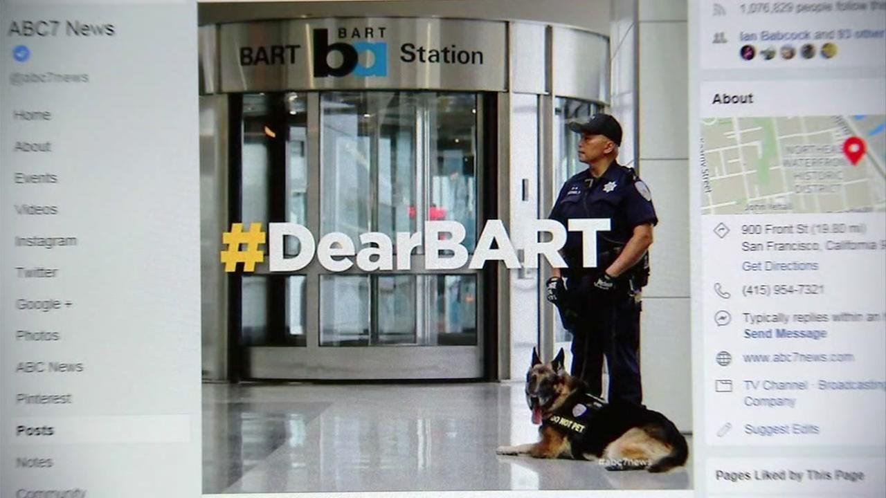 This is an undated image of a BART police officer.