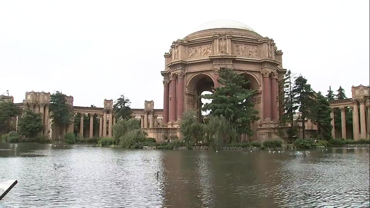 The Palace of Fine Arts is pictured in San Francisco on Tuesday, July 31, 2018.