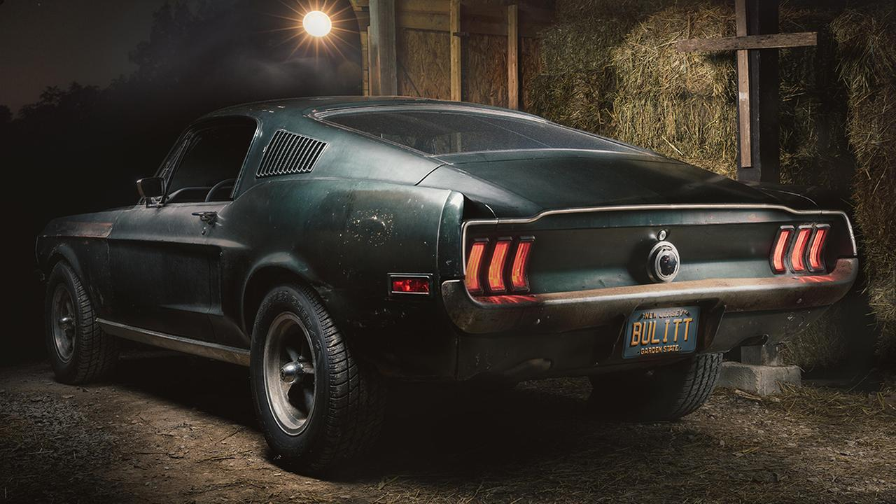 The 1968 Mustang driven by Steve McQueen in the iconic chase scene of the movie Bullitt has resurfaced after being locked up in barn for years.