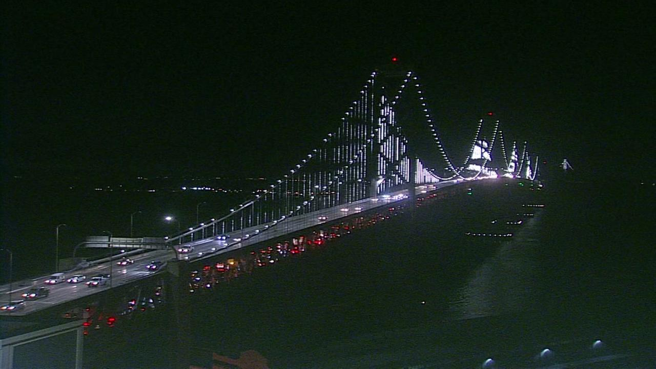 Bay Bridge on August 6, 2018.