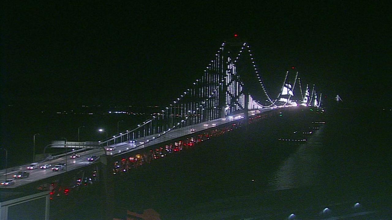 Bay Bridge on August 6, 2018.