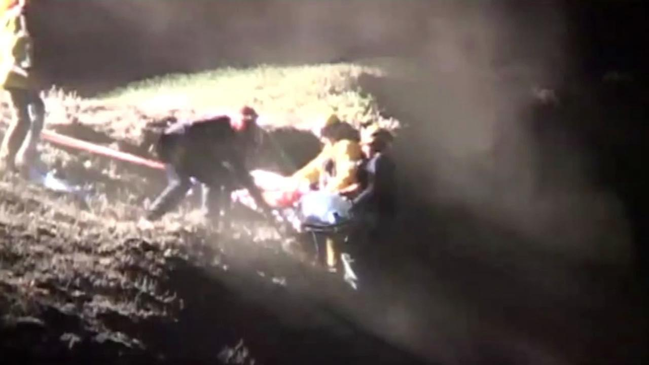 Emergency responders rescue boy