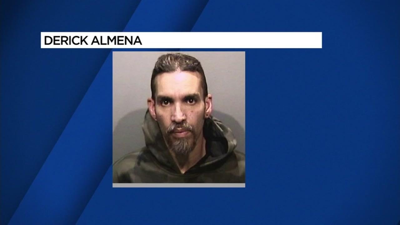Derick Almena, in a photo released by the Alameda Sheriffs Office, is charged with 36 counts of involuntary manslaughter for the people who died in Oaklands Ghost Ship Fire.
