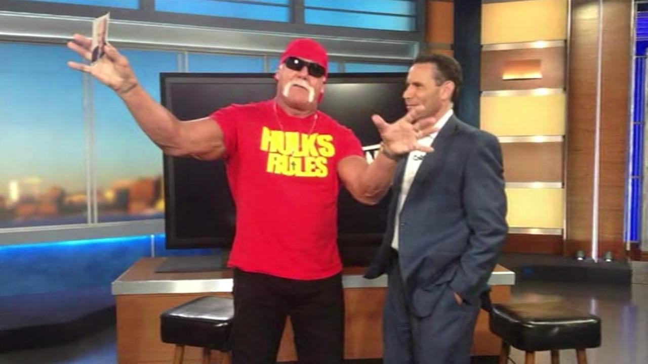 Hulk Hogan has a special message for ABC7s Mike Shumann