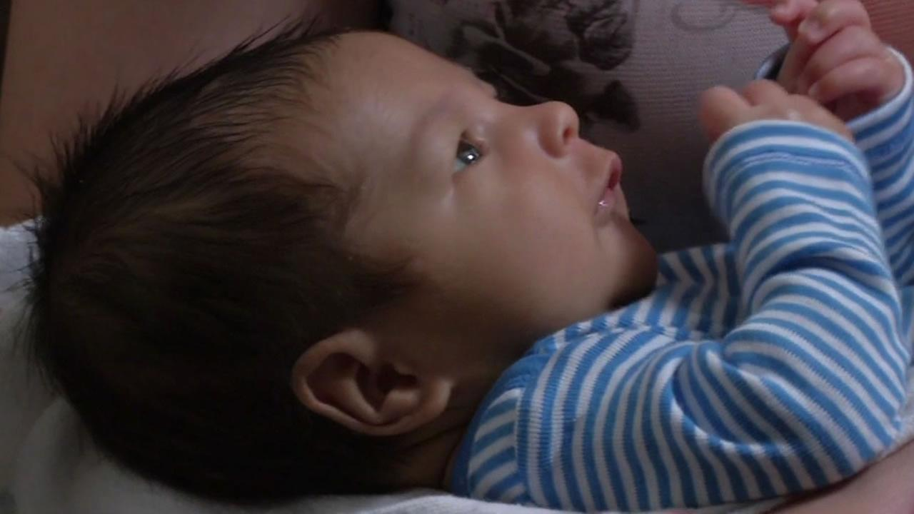 Newborn at Alta Bates Hospital in Berkeley