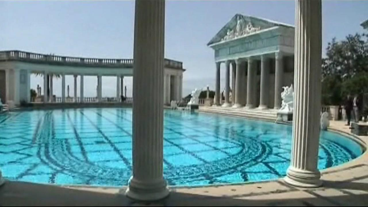 The iconic Neptune Pool is seen at Hearst Castle in San Simeon, Calif. in this undated image.