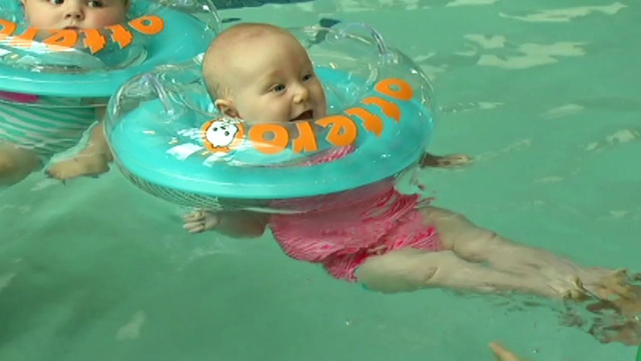 7 On Your Side Puts Infant Neck Float Otteroo To The Test Abc7news Com
