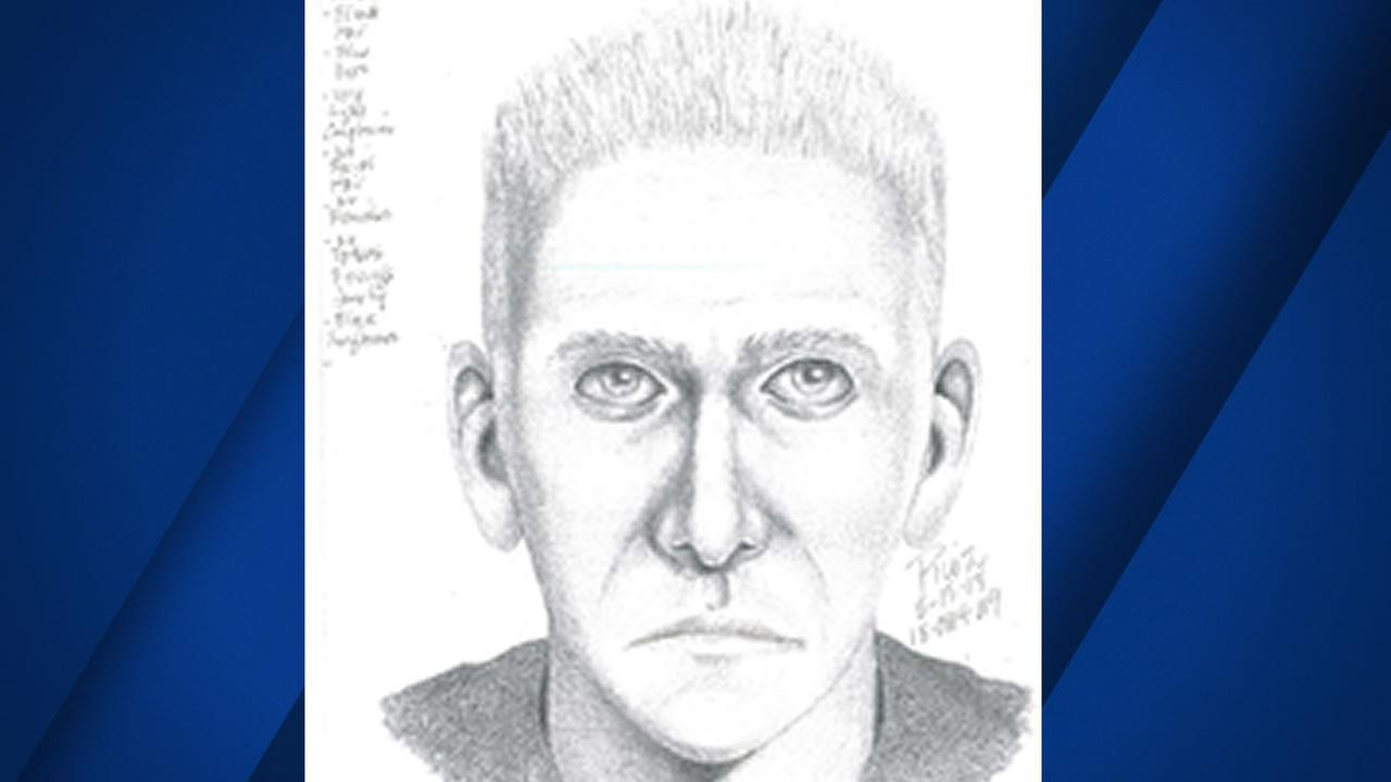 San Mateo police released this sketch of a suspect they say sexually assaulted a woman while posing as a ride-share driver.
