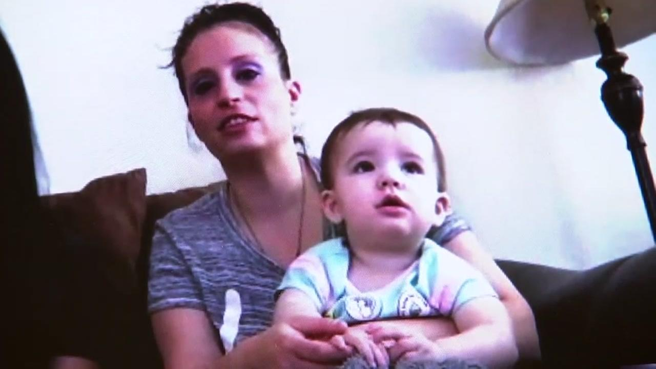 Candace Steel spoke to ABC7 News over Skype alongside her sister and baby named Hope.