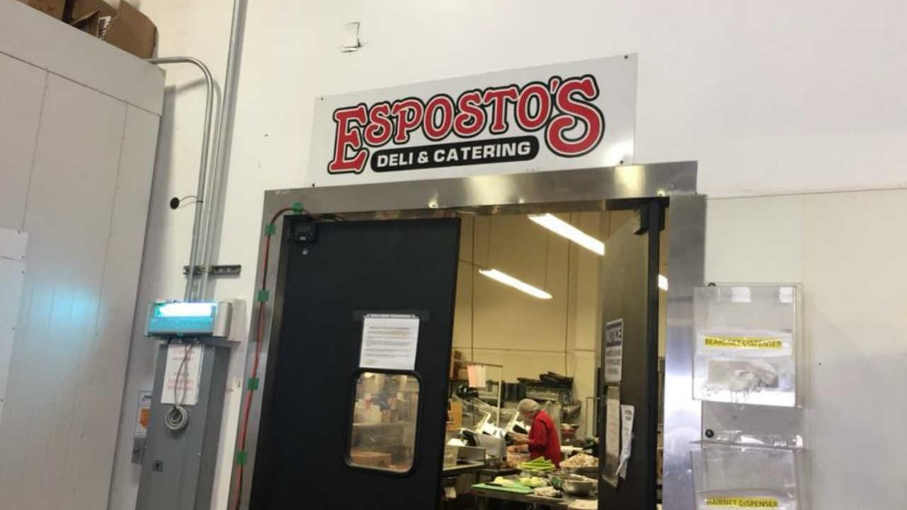 Espostos Deli and Catering is seen in San Francisco in this undated image.