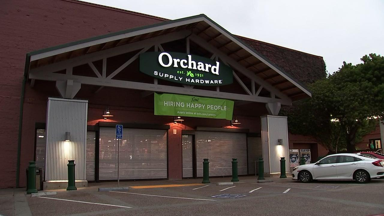 An Orchard Supply store appears in the Bay Area on Tuesday, Aug. 21, 2018.