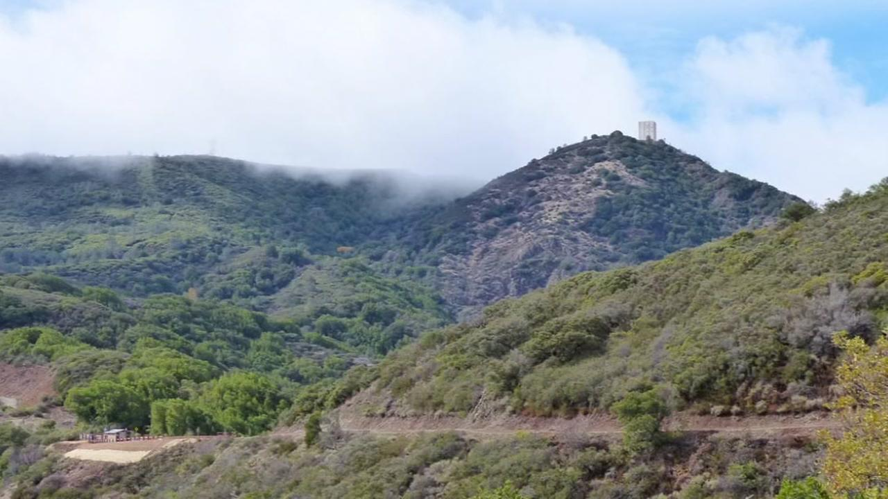 Mount Umunhum appears in 2017.