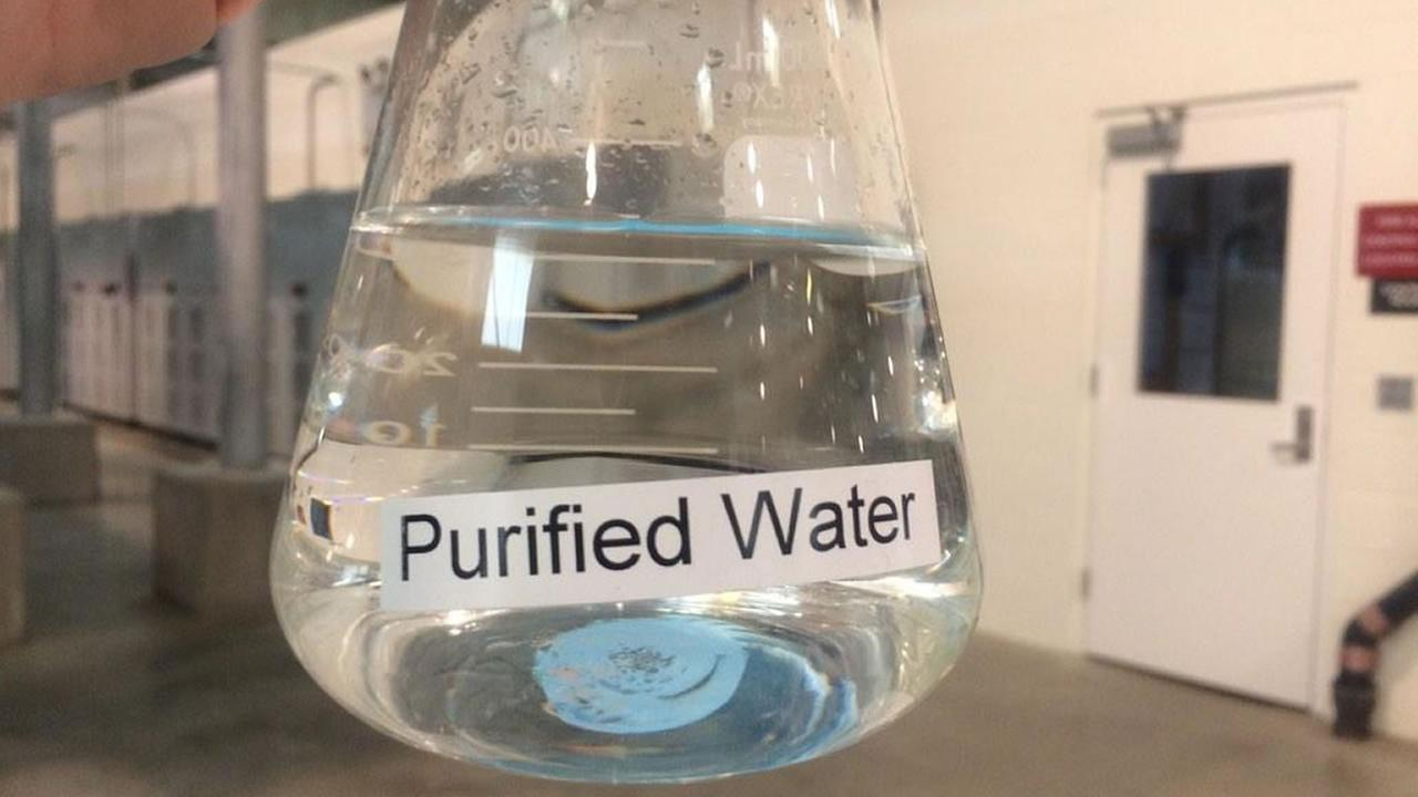 A plant in San Jose is turning wastewater from sinks, toilets, and washing machines into purified drinking water.