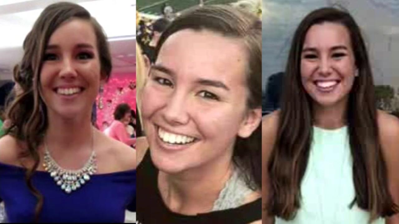 This undated photo shows Iowa college student Mollie Tibbetts, who was reported missing from her hometown in the eastern Iowa city of Brooklyn in July 2018.