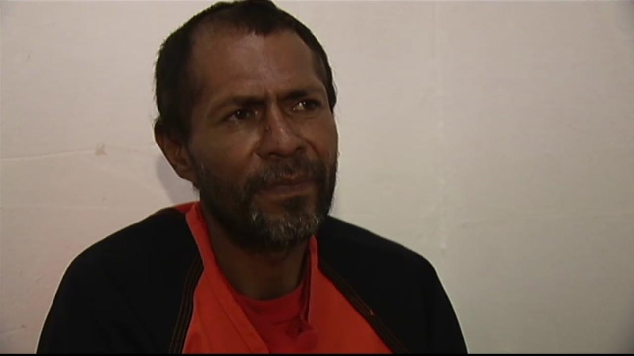 Jose Ines Garcia-Zarate appears in an interview with ABC7 News.