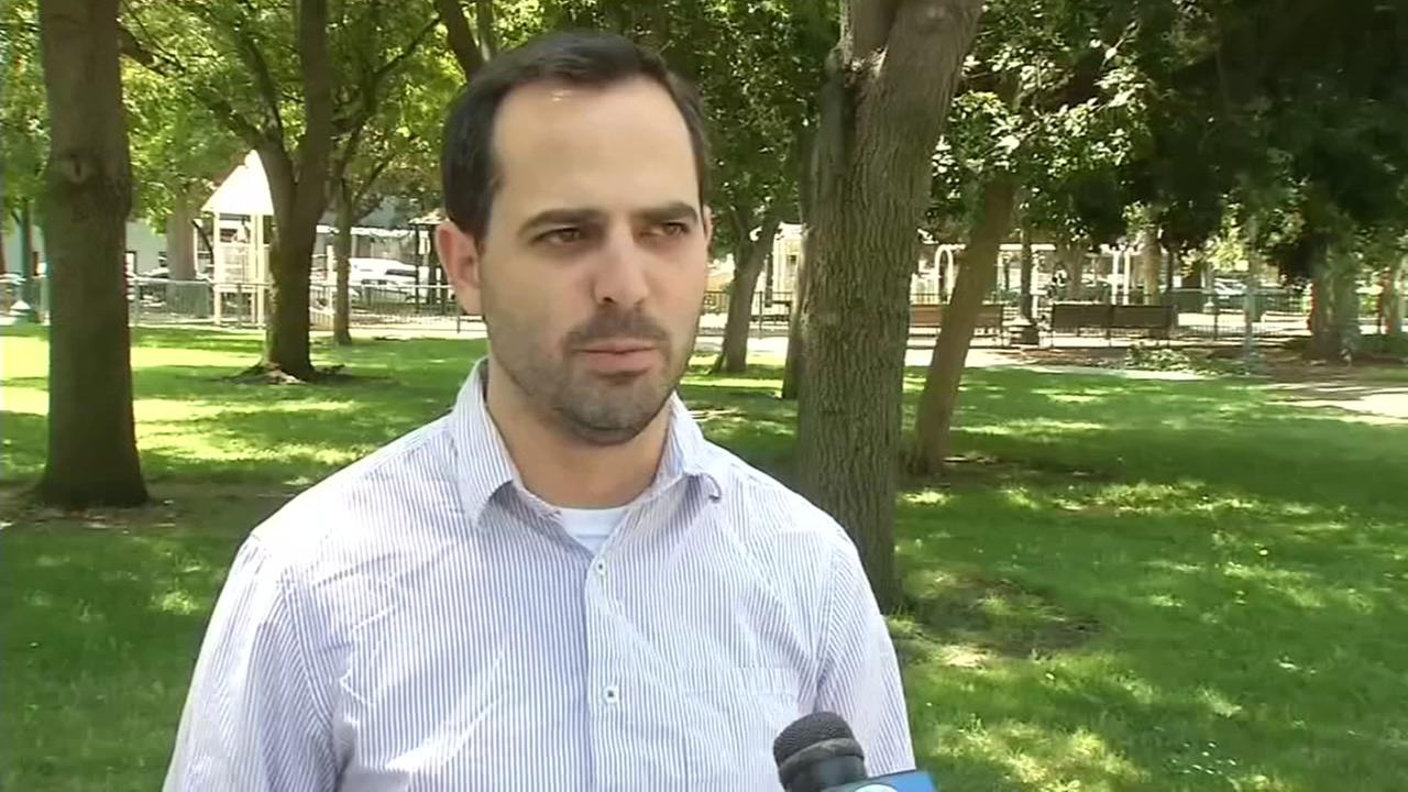 Aaron Zisser speaks to ABC7 News on Friday, August 24, 2018.