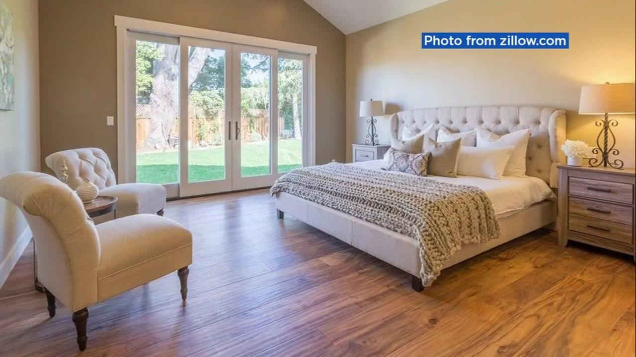 An interior shot of the home that a San Jose bishop was supposed to live in is seen in this undated image from Zillow.