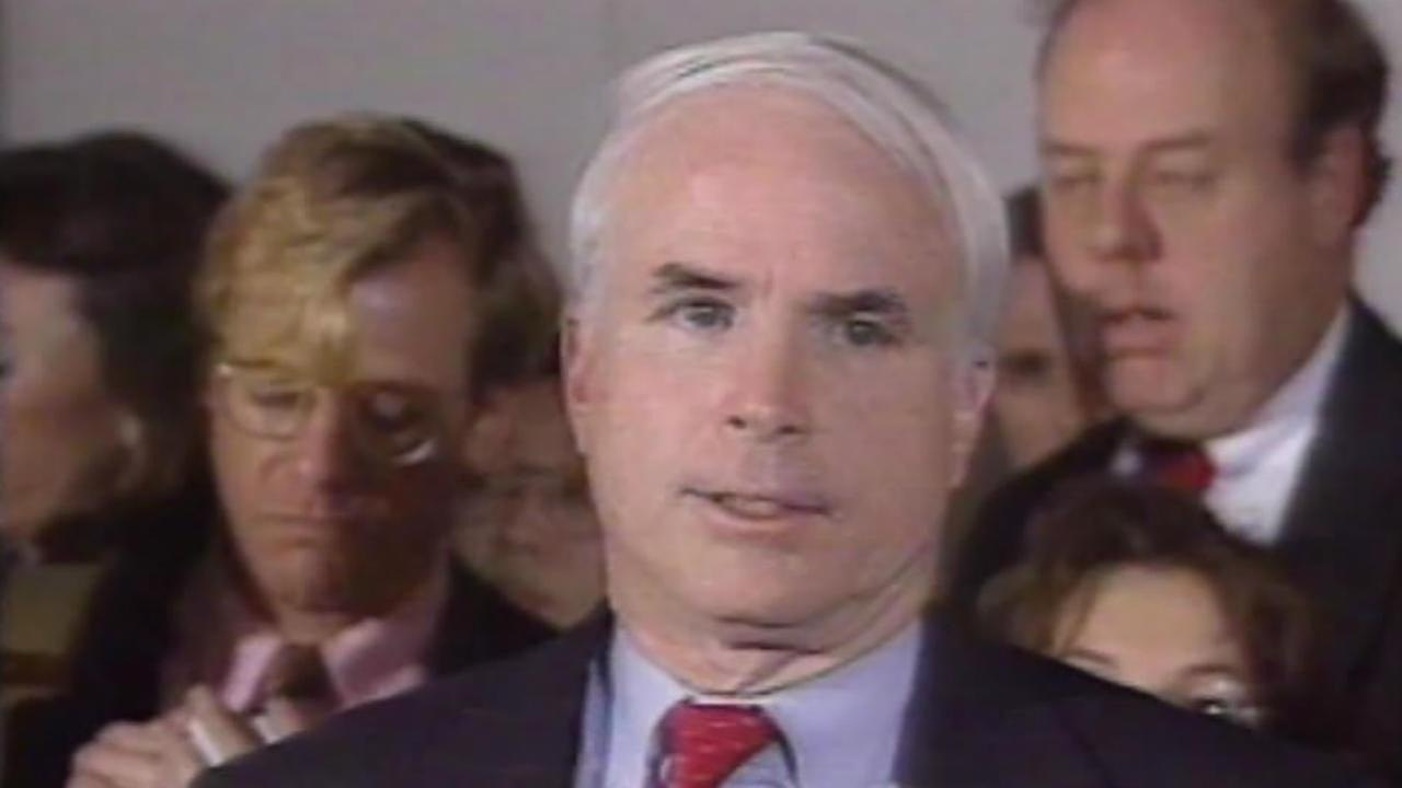 John McCain is seen in this undated image.