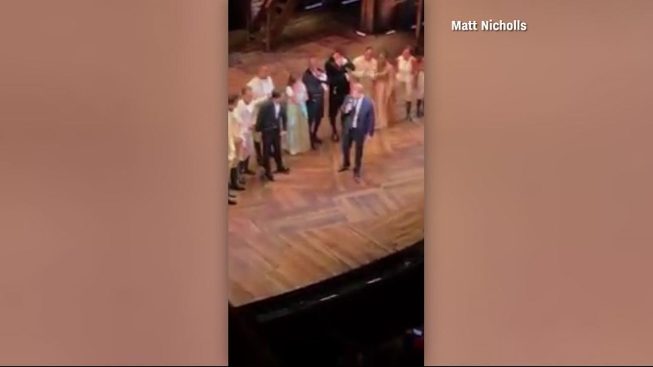 Prince Harry sings a line from the musical Hamilton.