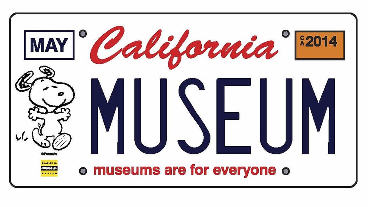 Pre-orders have begun for special Snoopy license plates that benefit California museums, zoos, gardens, aquariums and more.