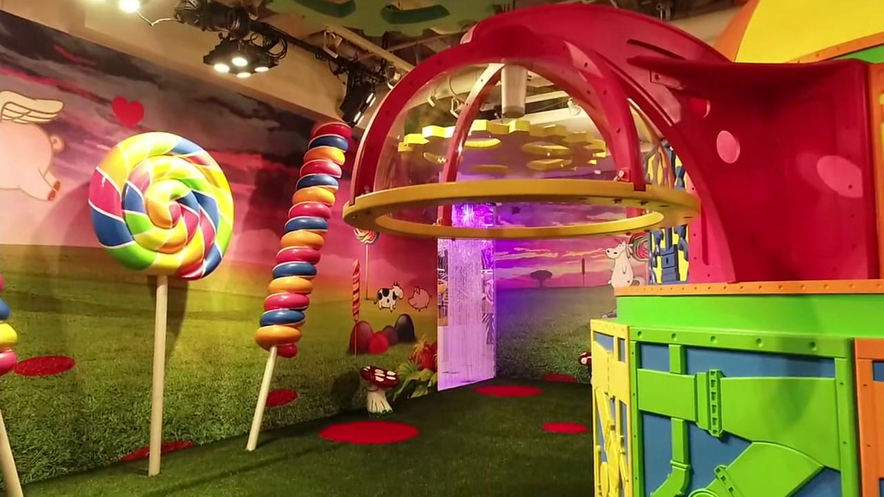 A room of Candytopia appears in San Francisco on Tuesday, Sept. 4, 2018.