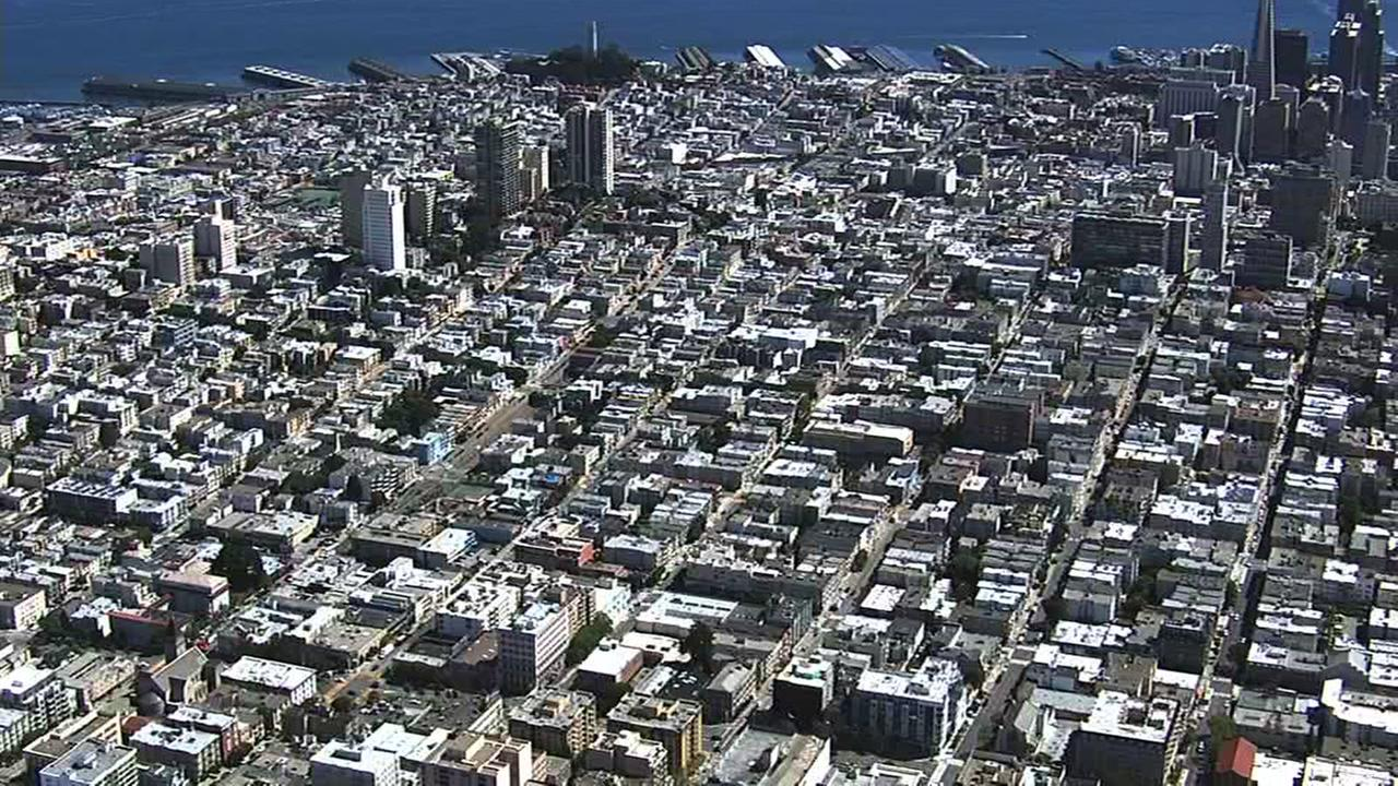 DRONEVIEW7 is over the city of San Francisco in this file photo.