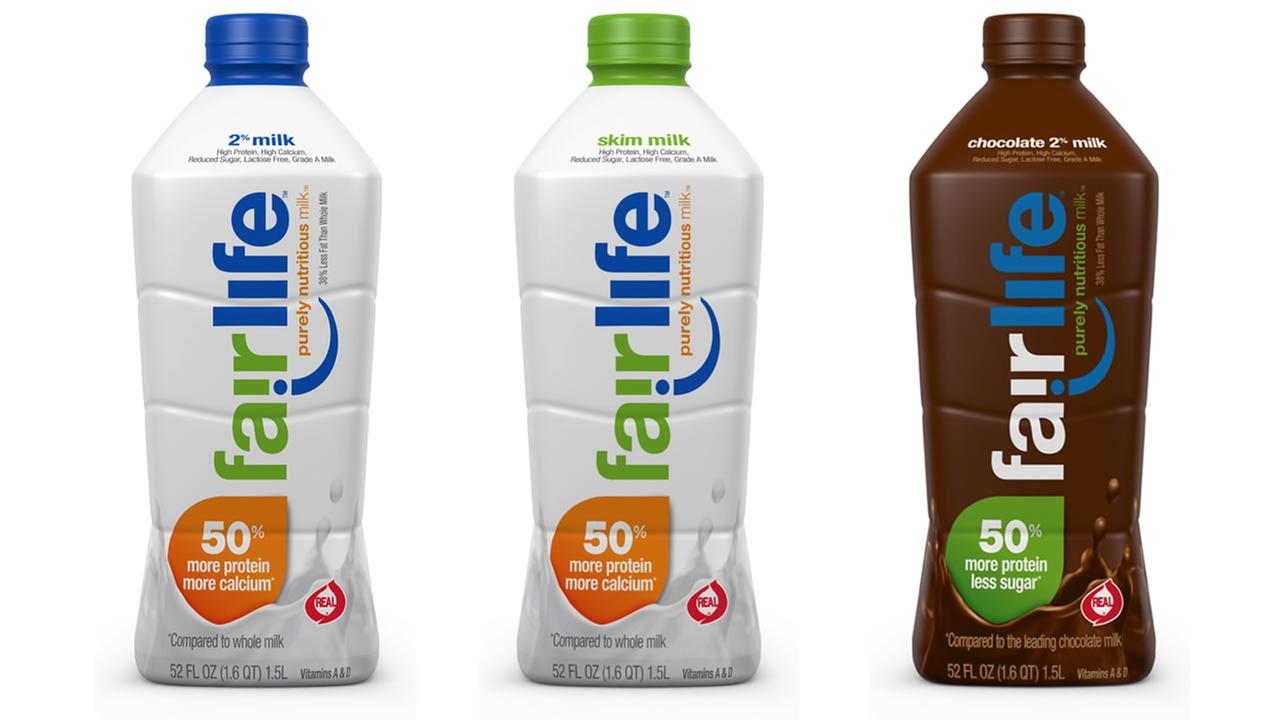 Coca-Cola is selling Fairlife, a healthier alternative to regular milk.