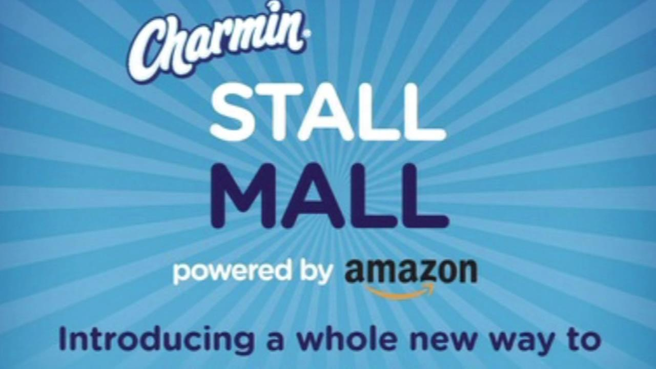 Amazon and Procter and Gamble are teaming up so you can buy items, even while you are sitting in a public restroom toilet stall!