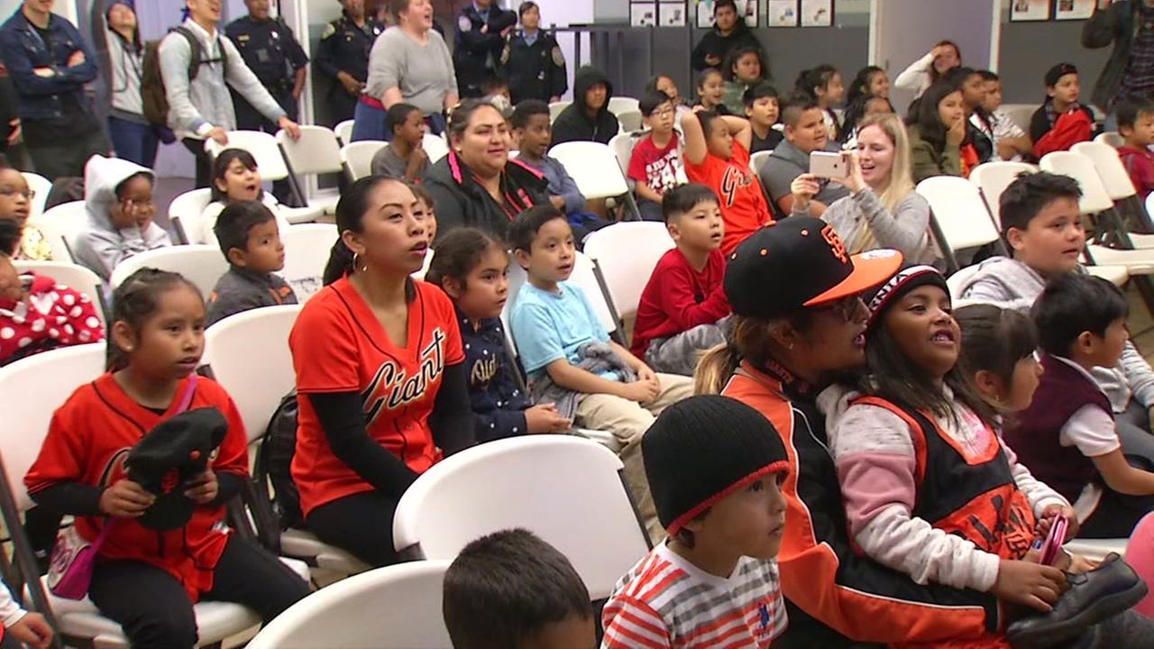 Students from City Academy in San Franciscos Tenderloin neighborhood are seen on Wednesday, September 12, 2018.