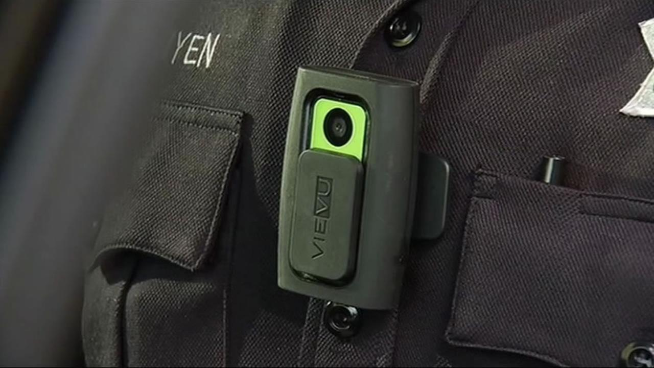 Richmond police officials received a shipment of 120 body cameras, paid for by a U.S. Department of Justice grant.